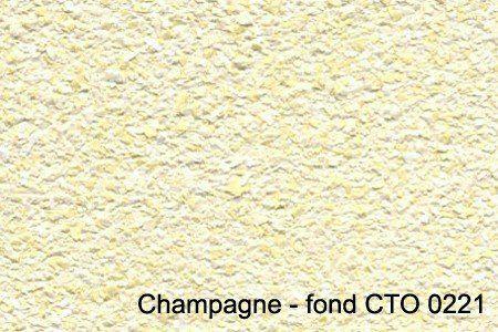 champagne - fond CTO 0221