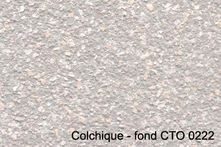 colchique - fond CTO 0222