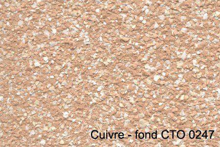 cuivre - fond CTO 0247