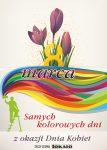 International Women's day. 8 March. Happy Women's Day. Spring flowers, purple crocus. Vector illustration EPS10 for creative flyer, postcard, banner design