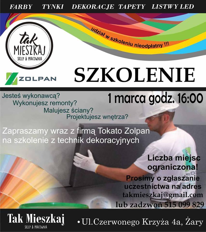 Szkolenie Praktyczne Zolpan Tokato Sp Z Oo Polska